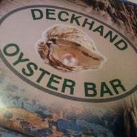 Photo taken at Deckhand Oyster Bar by Estal8r on 1/10/2013