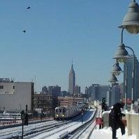 Photo taken at MTA Subway - 7 Train by Tara L. on 2/9/2013