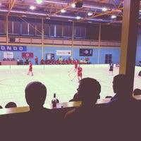 Photo taken at Lielvardes Sporta Halle by Toms A. on 9/29/2012