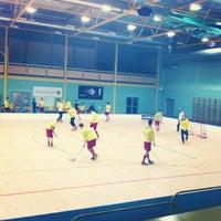 Photo taken at Lielvardes Sporta Halle by Toms A. on 2/23/2013