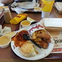 Photo taken at Bojangles' Famous Chicken 'n Biscuits by Corey D. on 5/22/2013