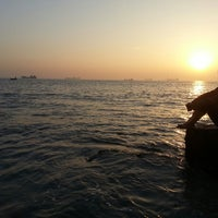 Photo taken at patenga Beach by MEHEDI R. on 1/27/2014