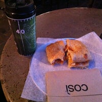Photo taken at Cosi by Delont'e W. on 3/28/2014