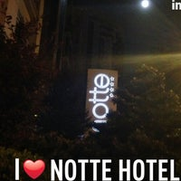 Photo taken at Notte Hotel by Hasan B. on 4/25/2013