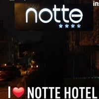 Photo taken at Notte Hotel by Hasan B. on 2/19/2013