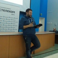 Photo taken at Ростелеком by Лигер А. on 1/24/2013