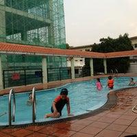 Photo taken at Sasco swimming pool by Teddy on 5/28/2014