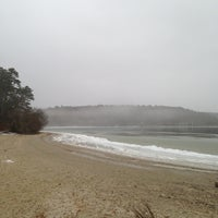 Photo taken at Cliff Pond by nicole D. on 1/29/2013