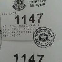 Photo taken at Bangunan Jabatan Imegresen Klang by Noradilah K. on 12/6/2013