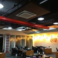 Photo taken at Coca-Cola İçecek A.Ş by ilker Y. on 12/29/2012