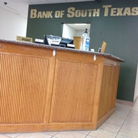 Photo taken at Bank Of South Texas by GJ on 10/11/2013