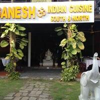 Photo taken at Ganesh Indian Restaurant by Sergey G. on 12/9/2012
