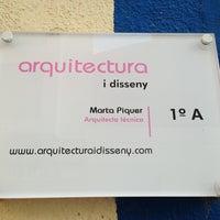 Photo taken at Arquitect_Disseny Marta Piquer. by Julian M. on 7/19/2013