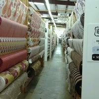 Photo taken at Lewis and Sheron Textiles by David R. on 2/2/2013