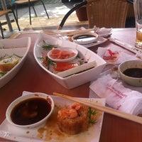 Photo taken at Kazoku Sushi by Eliza A. on 10/27/2012