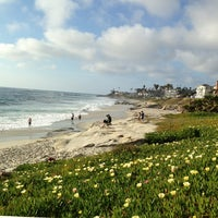 Photo taken at Windansea Beach by L A. on 4/7/2013