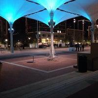Photo taken at Sundance Square by Chiara on 11/3/2013