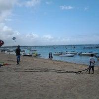 Photo taken at Tanjung Benoa Beach by Anisa F. on 11/7/2012