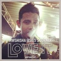 Photo taken at MWshisha @Suzi's Corner by @MikeManicka on 1/29/2013