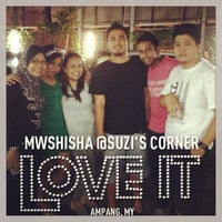 Photo taken at MWshisha @Suzi's Corner by @MikeManicka on 2/1/2013