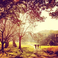 Photo taken at Prince Alfred Park by Sydney F. on 7/13/2013