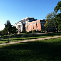 Photo taken at Hamilton Smith Hall by Ashley D. on 9/4/2013
