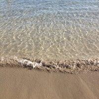Photo taken at Las Vistas Beach by Viktoria Z. on 1/15/2013