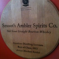 Photo taken at Smooth Ambler Spirits Distillery by Ginny M. on 6/11/2013