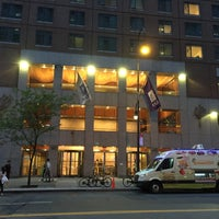 Photo taken at NYU Palladium Residence Hall by HashtagNYU on 6/29/2015