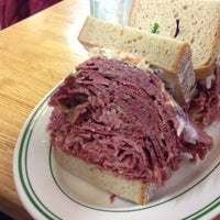 Photo taken at Famous 4th Street Delicatessen by Cooper S. on 12/2/2012