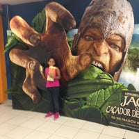 Photo taken at Cinemas Costa Dourada by Pedro Ivo S. on 4/2/2013