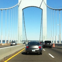 Photo taken at Throgs Neck Bridge Lookout Parking Lot by Rosa A. on 10/13/2012