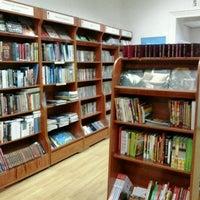 Photo taken at Книгарня «Є» by Solemijus on 1/21/2013