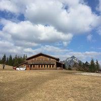 Photo taken at Chata na Grúni by Pol on 3/27/2016