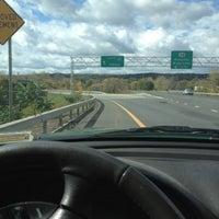 Photo taken at I-787 Albany by Jason S. on 10/12/2012