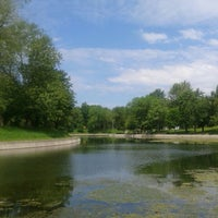 Photo taken at Parc La Fontaine by Annie A. on 6/12/2013