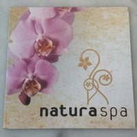 Photo taken at Natura Salon and Spa by Line M. on 9/27/2013