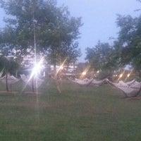 Photo taken at Лужайка с гамаками в Silence Beach Resort by Серж С. on 6/6/2013