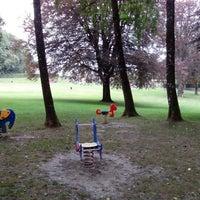 Photo taken at Parc Elizabeth by Christophe M. on 8/26/2013