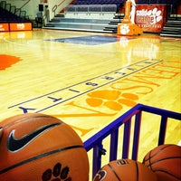 Photo taken at Littlejohn Coliseum by Kwani L. on 1/11/2013