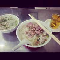 Photo taken at 南洋粿條麵食店 by Irene I. on 10/26/2012