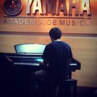 Photo taken at Yamaha by Fernanda H. on 1/24/2013