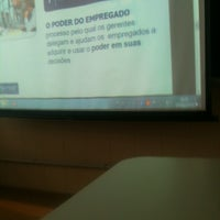 Photo taken at FAE Business School by Vinícius O. on 3/16/2013