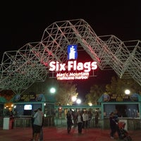 Photo taken at Six Flags Magic Mountain by Jay L. on 11/22/2012