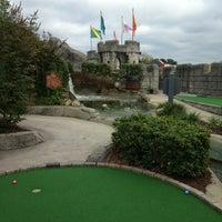 Photo taken at Dragon's Lair Fantasy Golf by Nicole K. on 10/15/2013