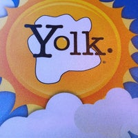 Photo taken at Yolk by Alex T. on 10/22/2012