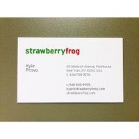 Photo taken at StrawberryFrog by Kyle P. on 9/8/2014