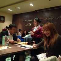 Photo taken at 耶里夏丽新疆餐厅 | يەر شارى by Hann F. on 11/15/2012