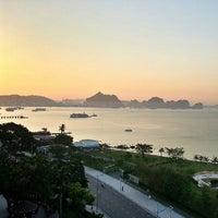 Photo taken at Halong Pearl Hotel by Phatchara-pha B. on 6/12/2013