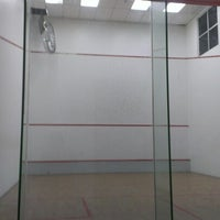 Photo taken at T.E.R Squash Centre by Ahmad Z. on 11/25/2012